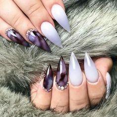 Sharpie Nails, Creative Nails, Acrylic Nails, Nail Ideas, Beauty, Ink, Cosmetology, Acrylics, Acrylic Nail Designs
