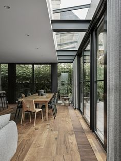 Arno Residence by Bayley Ward with interiors by Adele Bates Dark Timber Flooring, Local Design, Jungle House, Interior Architecture, Home, Cheap Living Rooms, Australian Architecture, Brick Awards, Architectural Elements