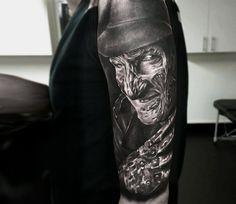 Realistic Movies Tattoo by Rob Richardson   Tattoo No. 13727