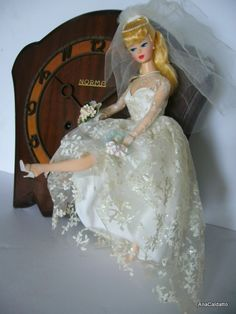 1997 Barbie Wedding Day Vintage Reproduction