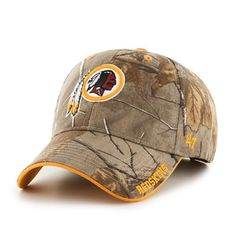 274bc6cc7a016 NFL Washington Redskins  47 Brand MVP Camo Realtree Frost Adjustable Hat Cap   47Brand  WashingtonRedskins