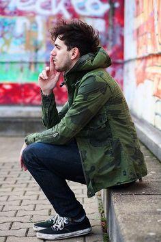 Macho Moda - Blog de Moda Masculina: Inverno 2015: Camuflado Masculino, pra inspirar!