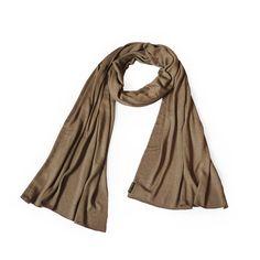 Fiar trade sjaal handgemaakt in Nepal van 100% bamboe.Unisex dames- / herensjaal casual en zakelijk, in...
