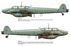 Messerschmitt Bf 110 D1 & D2