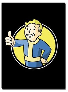 """Just Funky 100% Polyester 45"""" X 60"""" Fleece Throw Blanket with Fallout Pip Boy design. Care Instructions: Machine or hand wash in cold water, Air Dry Do Not use Bleach, & Cool iron as needed."""