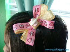 DIY Hairbows and Headbands
