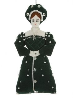 Anne Boleyn Christmas Ornament - Souvenir & Christmas Tree Decoration Specialists - Christmas Company