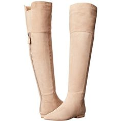 Chinese Laundry Kristin Cavallari - York Over the Knee Boot Women's... ($349) ❤ liked on Polyvore featuring shoes, boots, over-the-knee boots, thigh high boots, over knee suede boots, platform boots, pointy toe boots and over the knee suede boots