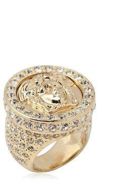 bague diamant versace