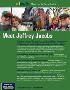 Meet the Author Series, Jeffrey Jacobs!