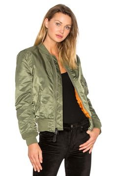 ALPHA INDUSTRIES MA-1 W Bomber in Sage