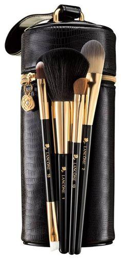 Lancome Holiday 2015 Makeup Sets | Lancome Pro Secrets Brush Set – Limited Edition – $64.00