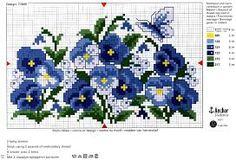 """gráficos em ponto cruz """"borboletas"""" - Pesquisa Google"""