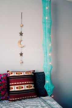 I LOVE this Lady Scorpio decor & lights☽ ✩ Save 25% off all orders with code PINTERESTXO at checkout | Bohemian Bedroom + Home Decor | Mandala Tapestries, Pillows & Wall Hanging Decor + Twilights by Lady Scorpio | Shop Now LadyScorpio101.com | @LadyScorpio101 | Photography by Luna Blue @Luna8lue | Featuring J Drew Silvers Handcrafted work