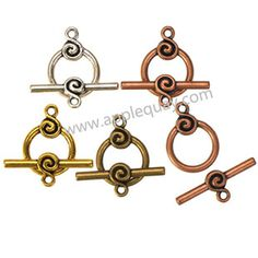 Zinc Alloy Round OT Clasps,Plated,Cadmium And Lead Free,Various Color For Choice,Approx 22*16.5*2mm,Bar:10.5*27*4mm,Hole:Approx 2/1mm,Sold By Bags,No 003108