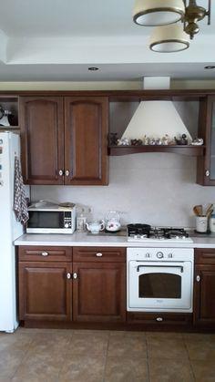 Кухонный гарнитур с фасадами из массива дуба