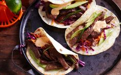 Wrap it Up: Soft Shell Beef Tacos