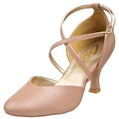 "Capezio Women's BR09 X-Strap 2.5"" Flared Heel Shoe (Apparel) http://www.amazon.com/dp/B002COIJTG/?tag=dismp4pla-20"