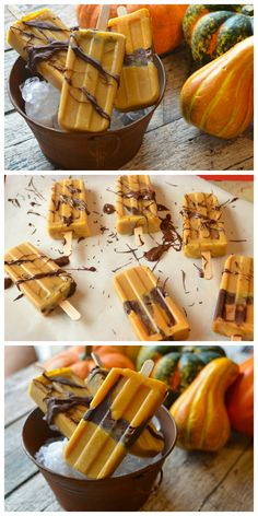 My kids love these chocolate pumpkin pops, and I love all the nutrients they are getting!