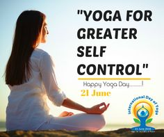 Yoga is like music. The rhythm of the body, the melody of the mind and the harmony of the soul creates the symphony of life.  Wishing you a happy International Yoga Day.