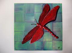 Acrylic painting ABSTRACT art Original by Artworkbynatalieb