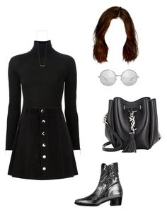 """""""Untitled #1100"""" by aracely-munoz on Polyvore featuring Modern Vice, Alexander Wang, AG Adriano Goldschmied, Yves Saint Laurent, Sage & Stone, modern, chic, 70s and ModernViceContest"""