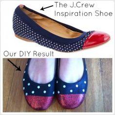 2 cap toe shoe ideas