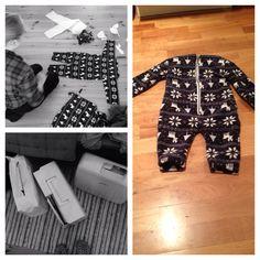 Winter fleece baby outfit. *linnkira