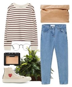 """""""Untitled #90"""" by samanthaanichols on Polyvore featuring Nearly Natural, Zara, Marie Turnor, Play Comme des Garçons, NARS Cosmetics, Ray-Ban, women's clothing, women, female and woman"""