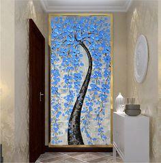Tamaño 1: 100x50cm(40x20inches) Tamaño 2: 120x60cm(48x24inches) Tamaño 2: 160x80cm(64x32inches) He añadir frontera adicional 1.5 pulgadas Si su necesidad de otro tamaño, por favor amablemente Envíeme un mensaje.  Tipo: Pintado a mano Estilo: Abstracto pintura al óleo cuchillo paleta de acrílico grueso Temas: árbol flor azul rosa blanco Medio: seguridad y protección del medio ambiente pintura acrílica Base de apoyo: la pintura al óleo lienzo firma del artista: sí Uso: sala de estar…