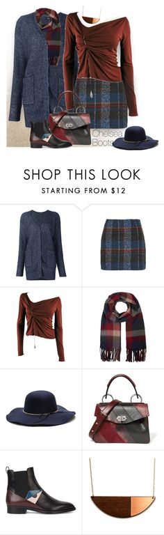 """""""Kick It: Chelsea Boots"""" by ysmn-pan ❤ liked on Polyvore featuring ADAM, Topshop, Jean-Paul Gaultier, Monsoon, Proenza Schouler, Fendi, contest and chelseaboots"""