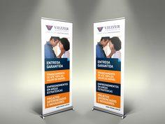 Banner para eventos Viezzer Engenharia.