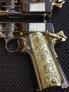 You're not bulletproof... — Twins A pair of sequentially numbered Colt 1911′s...