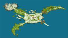 wakfu MMO: district general of Bonta by Sevpoolay