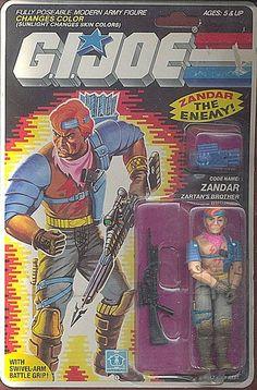 ZANDAR (v1), YOJOE.COM   YoJoe.com: Dedicated to the G.I.Joe of the 80's, 90's and beyond!