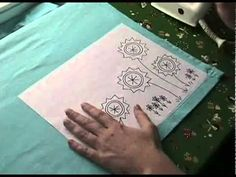 I love Wendi's tutorials! Some of the best on the web. This is for how to transfer embroidery patterns to fabric.