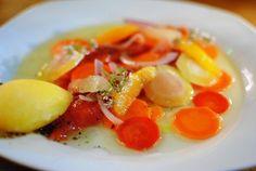 "King Salmon ""a l'huile"" Juniper Berries, Rainbow Carrot, Orange Ice, Pistachio"