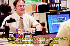 31 Dwight Schrute Quotes To Live Your Life By Dwight Quotes, Dwight Schrute Quotes, The Office Quotes Dwight, Dwight And Jim, Funny Quotes, Funny Memes, Hilarious, Movie Quotes, The Office Show