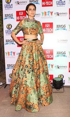 On the red carpet: Kangana Ranaut | Style list 2015 | Vogue India