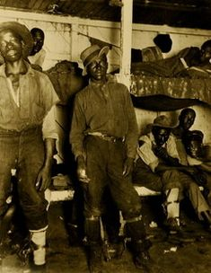 CONVICT MINERS | Southern states in the decades following the Civil War developed a system of arresting Blacks on flimsy charges and then selling them to plantations, lumber camps and mines for hard labor in deplorable circumstances. In Alabama, the convict-lease system persisted until 1928, longer than in any other state.