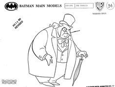 Living Lines Library: Batman (TV Series 1992–1995) - Model Sheets: Uglies & Devils