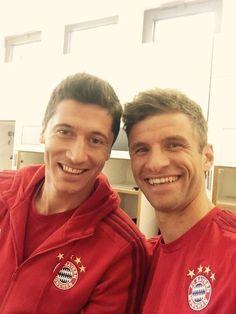 Robert Lewandowski /and Thomas Müller #MiaSanMia
