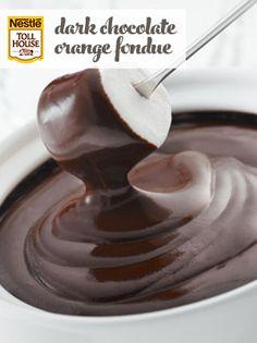 Dark Chocolate Orange Fondue