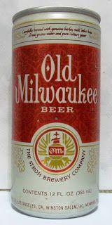 LATAS Y BOTELLAS COLECCIÓN: LATA OLD MILWAUKEE BEER USA