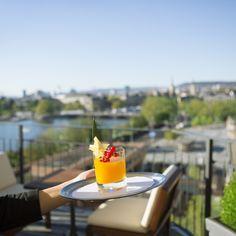 Dachterasse des Small Luxury Hotel Ambassador à l'Opéra | creme zürich