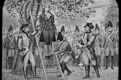 "Nathan Hale's last words were, "" I wish I could die more times for my country""."