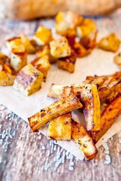 Love roasted sweet potatoes. This spice blend would be great with roasted winter squash as well.