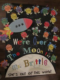 Teacher Appreciation Week - Out of this World Theme #outofthisworld #spacetheme #teacherappreciation