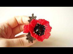 YouTube Bead Earrings, Crochet Earrings, Beading Patterns, Elsa, The Creator, Beads, Flowers, Jewlery, Instagram