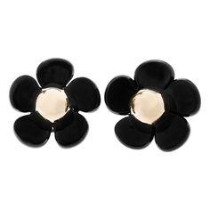 Women's L. Erickson Floral Stud Earrings (350 MXN) ❤ liked on Polyvore featuring jewelry, earrings, flower stud earrings, flower jewelry, floral stud earrings, flower earrings and stud earrings
